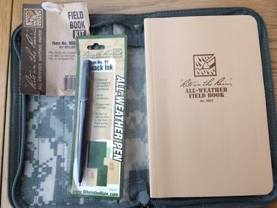 Ritr Field Note Book Set Complete With Ritr Pen