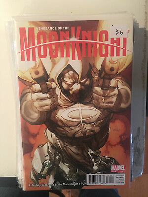 VENGEANCE OF THE MOON KNIGHT #1-3  MUST HAVE NM- Leinil Yu Cover 1 2 3
