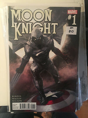 MOON KNIGHT #1 NM 1st Print Bendis Maleev Spider-Man Wolverine Captain America