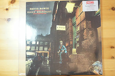 Mega Rare David Bowie Ziggy Stardust Spiders Mars on EMI 100 DMM V:EX+/NM S:NM