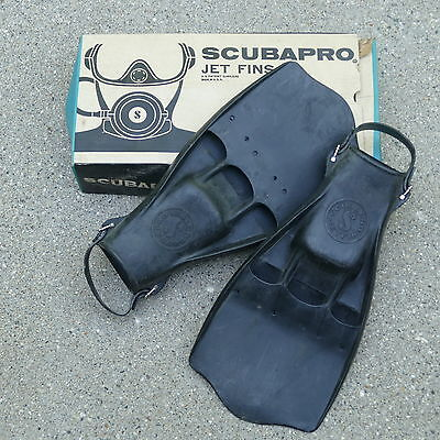 Vintage Scubapro Jet Fins ~ Scuba Diving Fins Cat. No.7050 ~ NOS in Box