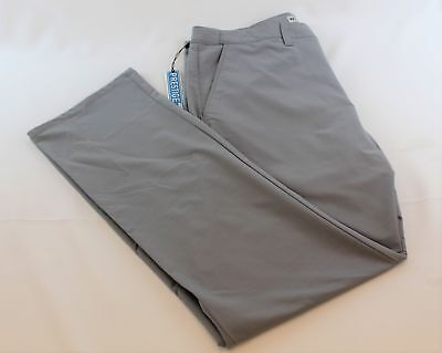 Travis Mathew Prestige 777 Pants Cool Grey 1MK184 Size 38 Retail $105