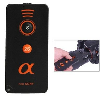 Wireless Shutter Release Remote for Sony Alpha Series Cameras Including Battery