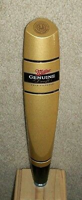Miller Genuine Draft Mgd Beer Tap Handle