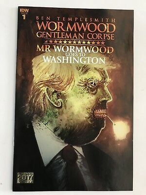 NYCC 2017 exclusive WORMWOOD TRUMP #1 Comic Cover New York Con VARIANT IDW
