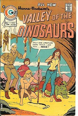 Valley of the Dinosaurs #1,4,5,9,11  F/VF  1975