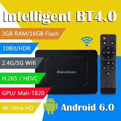 H96 Pro Plus Android 7.1 Octa Core3+32GB 2.4G+5.8G WiFi 3D 4K TV BOX Media EU