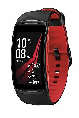 *NEW SEALED* Samsung Gear Fit2 Pro Smart Fitness Band Red or Black Retail Box