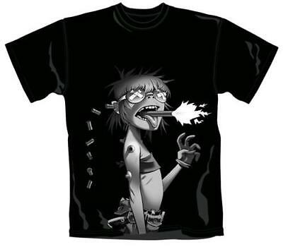 Gorillaz - Cyborg Mens Black Short Sleeve Cotton T-Shirt - New & Official