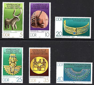 1978. ANCIENT AFRICAN WORKS OF ART SET. MINT MNH. CAT £3.50. ONLY 99p  #B0877