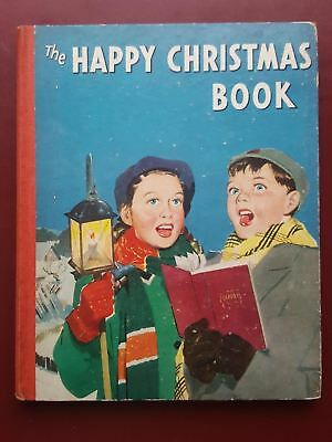 The Happy Christmas Book 1950's - Hardback Book - Juvenile Productions Ltd