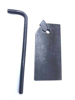 """Royal Products 43520 1/2"""" And 3/4"""" Part Off Blade Holder Insert Shank Bar Puller"""