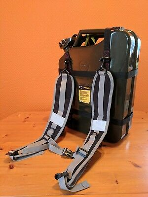 Jerry Can Carry Backpack For Microlight, Boat, Lawnmower, Motorbike Etc.