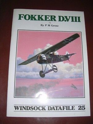 Windsock Datafile 25   Fokker D.VIII