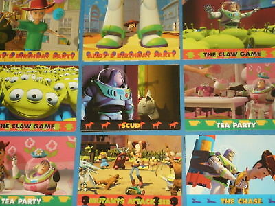 Disney's TOY STORY (72 of 74) Trading Card Collection 50 Base Cards & 22 Puzzle