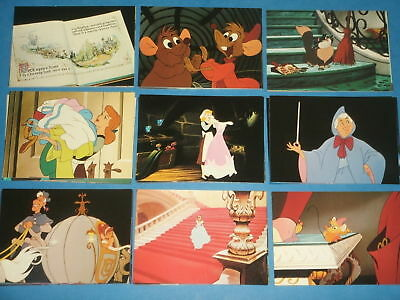 Disney's CINDERELLA Complete Trading Card Collection 1995 (Rare) Glass Slipper