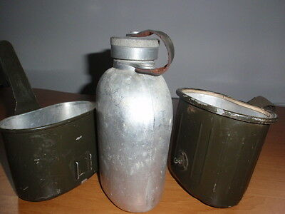 German Military Surplus Item - 1974s Used Army Men Mess Canteen Cambo Kit