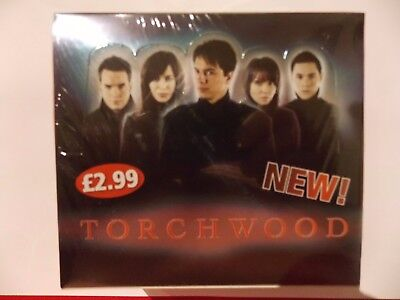 Torchwood (Dr Who  spin-off) Trading Cards Complete Sealed  Box