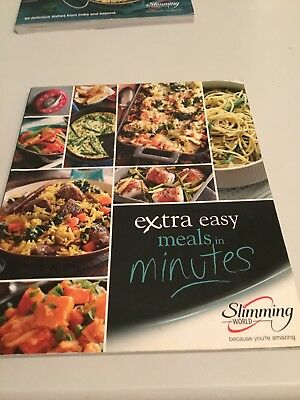 Slimming World Extra Easy Meals In Minutes Cook Book Used