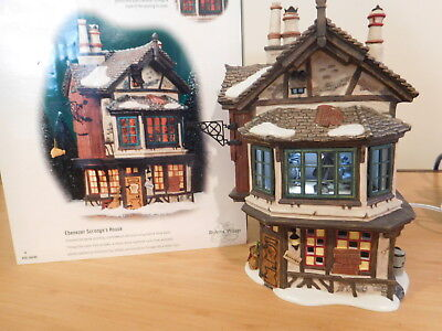 Dept 56 Dickens Village - Ebenezer Scrooge's House - from The Christamas Carol