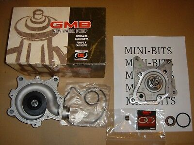 MINI Cooper S Supercharger End Plate REPAIR KIT + New Water Pump