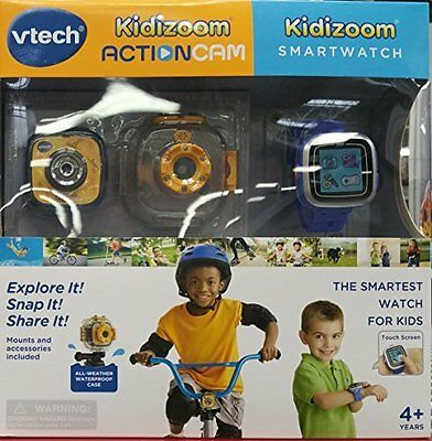 Vtech Kidizoom Actioncam and Smartwatch with Touch Screen NEW
