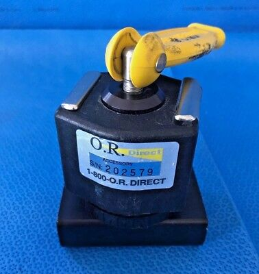 O. R. Direct Table Clamp/Socket for Accessories to Surgical Tables, OR, Surgical