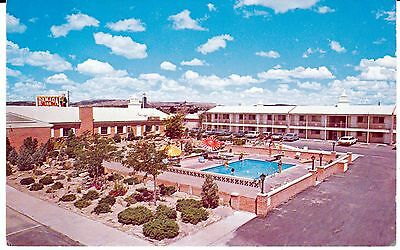 "Gallup NM  ""The Ramada Inn Motel"" Route 66 Postcard New Mexico  * FREE US SHIP"