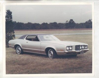 1972 Mercury Montego ORIGINAL Factory Photograph wy6863
