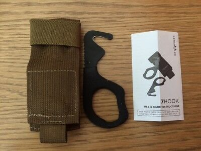 Genuine Ussf Benchmade Rescue Hook Brand New With Tan Pouch