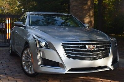 2017 Cadillac CTS LUXURY-EDITION/PANORAMIC/CAMERA/HTD&CLD SEATS 2017 Cadiilac CTS Luxury Edition Sedan 4-Door 2.0L / 2,000 Miles!!