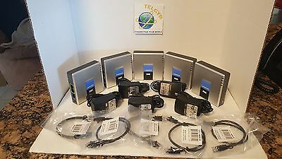 5  UNLOCKED Linksys PAP2T VOIP ATA SELLER REFURBISHED, use with  GOOGLE VOICE