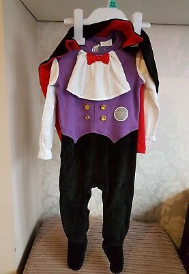 Baby boy's Halloween vampire 9-12 months costume outfit *CUTE!* New