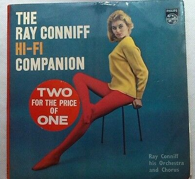 """Ray Conniff And His Orchestra Hi-Fi Companion 2 x 12"""" Vinyl Dbl LP EX - BET 101"""