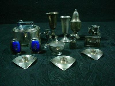NobleSpirit NO RESERVE {3970} Outstanding Mix of Sterling Silver Tabletop Items