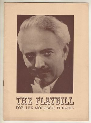 "Dante  (MAGICIAN)  ""Sim Sala Bim""  Playbill  Broadway  1940  Moi Yo Miller MAGIC"