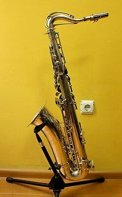 TOP Tenor Saxophone WELTKLANG+Original Hard Case+B&S Mouthpiece~Made in Germany~