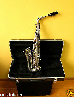 TOP Eb Alt/ Alto Saxophone B&S Blue Label+Original Hard Case&Mouthpiece~Germany~