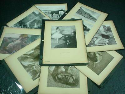 NobleSpirit NO RESERVE {3970} Scarce Edgar Degas Numbered /60 Prints Collection