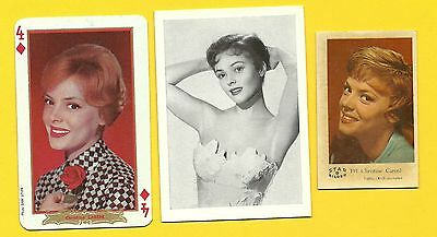 Christine Carere Fab Card Collection French film actress Blue Light TV series A