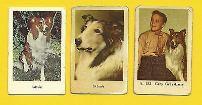 Lassie the Dog Gary Gray TV series Vintage 1960s Cards from Sweden LOT C