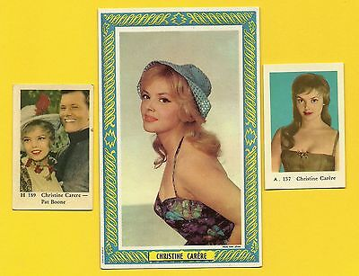 Christine Carere Fab Card Collection French film actress Blue Light TV series B