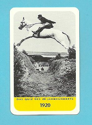 Equestrian Horse Jumping Pulvermanns Grab Cool Collector Card Europe Look!