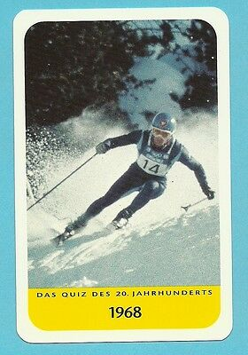 Jean Claude Killy Skiing Olympics Cool Collector Card Europe Look!