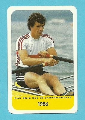 Peter-Michael Kolbe Olympics Rowing Single Skull Cool Collector Card Europe Look