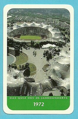 Olympic Stadium 1972 Munich Germany Cool Collector Card from Europe