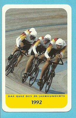 Cycling 1992 Olympics Cool Collector Card Europe Look!