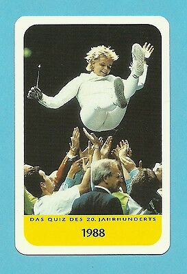 Anja Fichtel Olympics Fencing Cool Collector Card Europe Look!