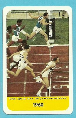 Armin Hary Track & Field Running Olympics Cool Collector Card Europe Look!