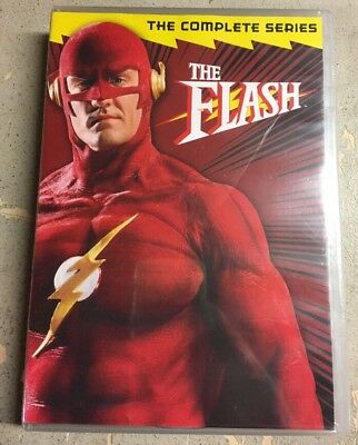 The Flash: The Complete Series (DVD, 2011, 6-Disc Set) Brand New Sealed
